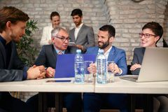 Successful meeting business people Royalty Free Stock Photos