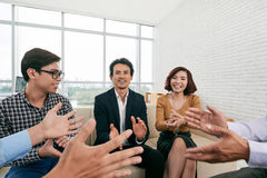 Successful meeting Royalty Free Stock Photo
