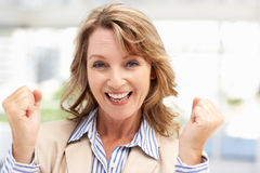 Successful mid age businesswoman Royalty Free Stock Photo