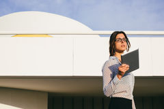 Successful modern business woman Stock Photos