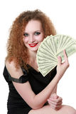 Successful money isolated Royalty Free Stock Photos