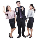 Successful multi ethnic business team Royalty Free Stock Image
