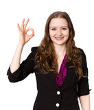 Successful office worker Stock Photography