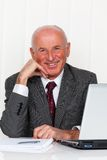 Successful older entrepreneurs in the office Stock Photo