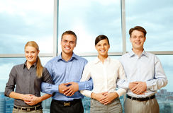 Successful partners royalty free stock photography