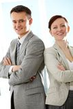 Successful partners Royalty Free Stock Photos