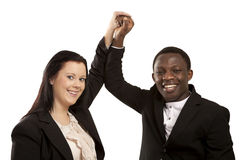 Successful partners Royalty Free Stock Photo