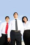 Successful partnership Stock Image