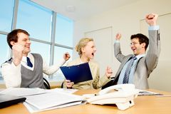 Successful people Royalty Free Stock Photos