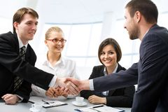 Successful people Stock Image