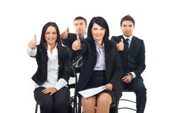 Successful people at the conference Stock Photography