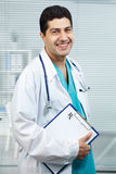 Successful physician Stock Images