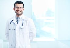 Successful physician Royalty Free Stock Image