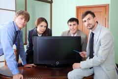 Successful presentation Stock Photography