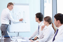 Successful presentation Stock Image