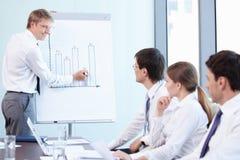 Successful presentation Stock Image