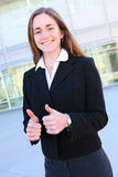 Successful Pretty Business Woman Royalty Free Stock Image