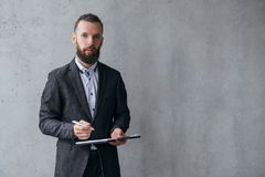 Successful professional career business man royalty free stock images
