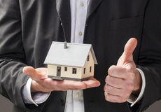 Successful property business Stock Photos