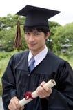 Successful and proud graduate student Stock Photos