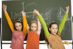 Successful pupils Royalty Free Stock Photos