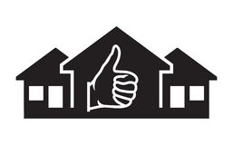Successful real estate transactions Royalty Free Stock Photos