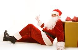 Successful Santa Stock Image