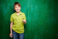 Successful schoolkid Stock Images