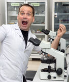 Successful scientist Stock Photography