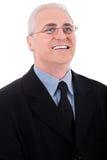 Successful senior business man Stock Images