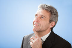 Successful senior businessman Stock Image