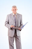 Successful Senior Businessman Royalty Free Stock Photo