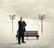 Successful senior businessman standing Royalty Free Stock Image