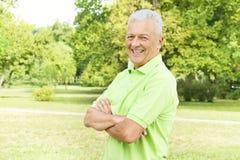 Successful senior man Stock Photo