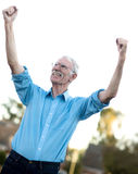 Successful senior man Royalty Free Stock Image