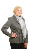 Successful senior woman Royalty Free Stock Photo