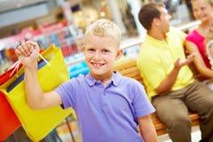 Successful shopper Stock Image