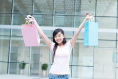 Successful shopper Stock Photo