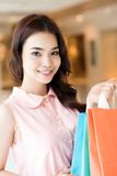 Successful shopper Stock Photography