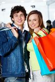 Successful shoppers Stock Photography