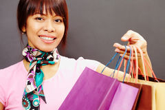 Successful shopping Stock Photography