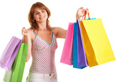 Successful shopping Stock Images