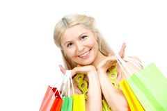Successful shopping Royalty Free Stock Photography