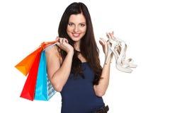 Successful shopping! Stock Photos