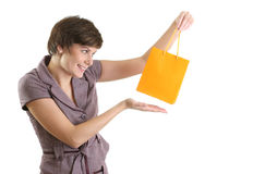 Successful shopping Royalty Free Stock Photos