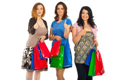Successful shopping day Royalty Free Stock Image