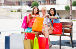 Successful Shopping Royalty Free Stock Images