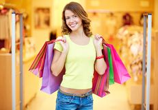 Successful shopping Royalty Free Stock Image