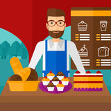 Successful small business owner. Royalty Free Stock Image