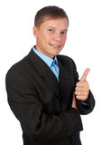 Successful smiling businessman Royalty Free Stock Photos